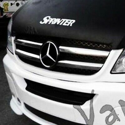 Mercedes Sprinter MK3 Front Grille (4 Pcs) Stainless Steel