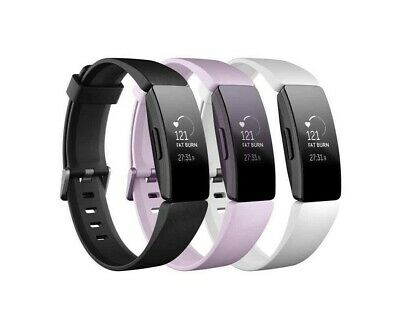 FITBIT Inspire HR Fitness Tracker - Black / Lilac / White - Universal