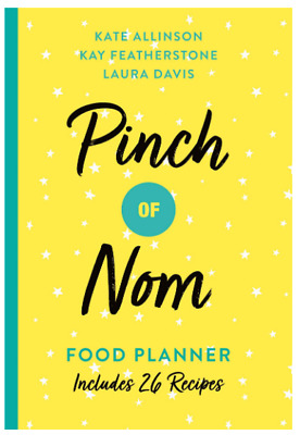 Pinch Nom Food Planner Healthy Nutrition Recipes Slimming Diet Diary Organizer