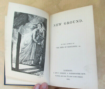 Charlotte M. Yonge, New Ground, 1868 and Landmarks of History, 1857, two 1st eds