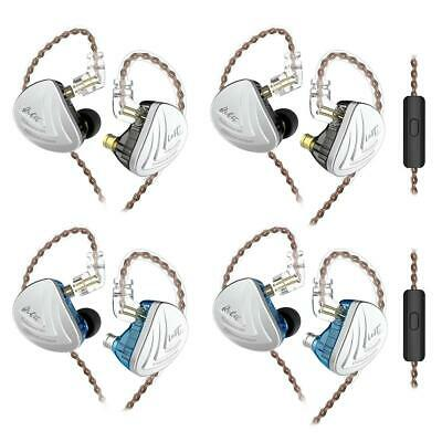 FR KZ AS16 16BA In Ear Earphone Balanced Armature Headset Monitor HiFi Earbuds