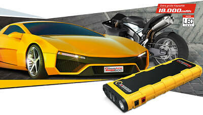 Panther IQPower Jump600 12V   PKW Startbooster  Lithium Jumpstart   18.000mAh