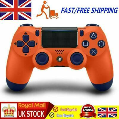 UK Orange PS4 Wireless Game Controller PlayStation Dualshock 4 For SONY PS4