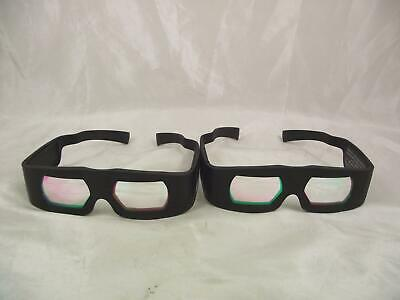 Dolby 3D Digital Cinema Two Pairs Of Glasses Retro