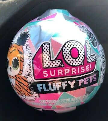 NEW  LOL Surprise Winter Disco Fluffy Pets Sealed Balls IN HAND  #Fast Shipping#