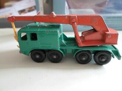 Matchbox Series No30 Mobile 8 Wheel Crane Made in England 1965