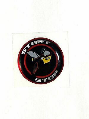 Challenger Charger Journey Starter Push Start Button Decal Emblem Scat Pack