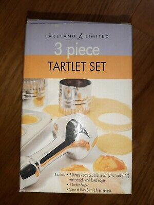 Three Piece Lakeland Tartlet Set *New*