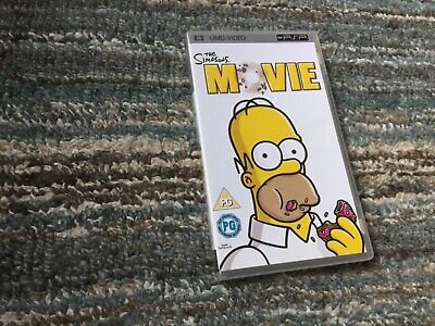 THE SIMPSONS MOVIE - sony playstation portable / PSP UMD video'