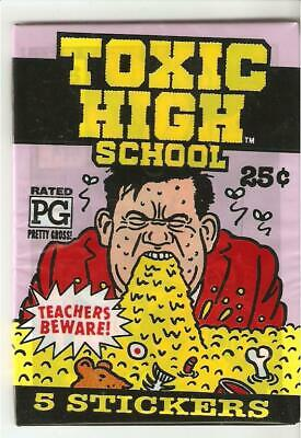 TOXIC HIGH SCHOOL , pack lot of sticker pack