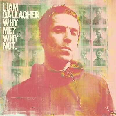 LIAM GALLAGHER 'WHY ME? WHY NOT' Deluxe Edition CD 20-09-19