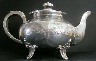Silver Plated Teapot by Cooper Brothers of Sheffield