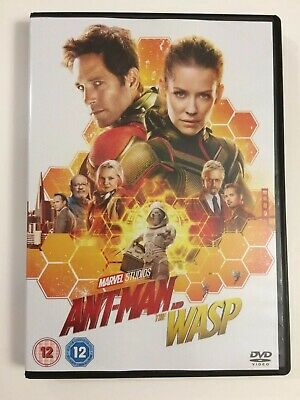Ant-Man And The Wasp DVD 2018 Region 2