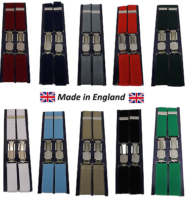Mens Made in England 1 Inch Braces