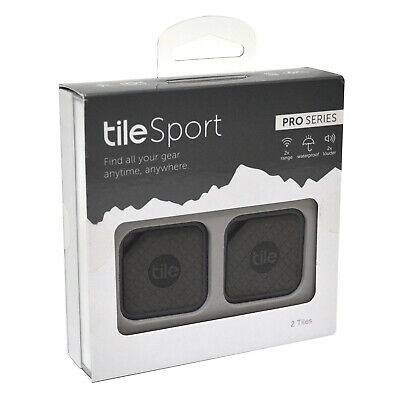 Tile Sport Pro Series 2-Pack (Granite) [Brand New]