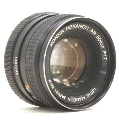 KONICA HEXANON AR 50mm f/1.7 Prime Camera Lens  - Y96