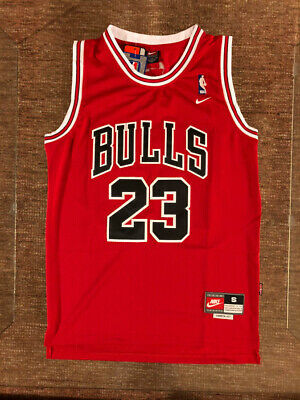 #23 Michael Jordan Chicago Bulls Throwback RED Jersey Men's or Youth