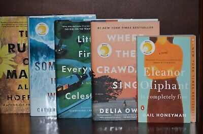 Where the Crawdads Sing by Delia Owens +4 - Reese's Book Club 5 Volume Set
