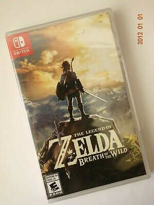 Nintendo Switch The Legend of Zelda Breath Of The Wild Brand New! Free Shipping