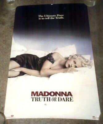 """Madonna Truth or Dare Original Authentic 1991 Boy Toy Poster #8132  36"""" X 23"""""""