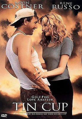 Tin Cup (DVD, 1997, Widescreen) - NEW!!