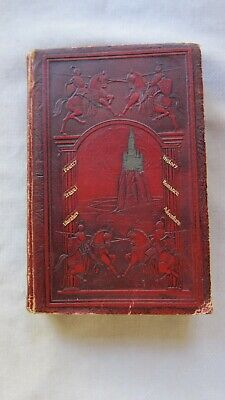 Old SC Leather Book Junior Classics Animal and Nature Stories 1918 GC
