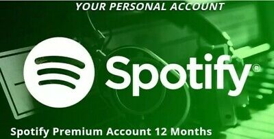 🔥Spotify Premium Account 🔥1 YEAR / 12 Months 🔥1H  Delivery🔥