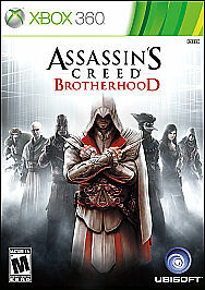 Assassin's Creed: Brotherhood (Microsoft Xbox 360, 2010) DISC IS MINT