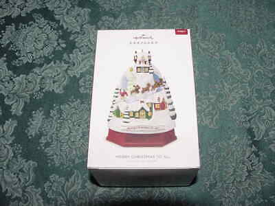 Hallmark Ornament Merry Christmas to All REPAINT Special Edition. NRFB Brand NEW