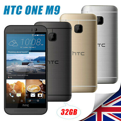 Factory Unlocked HTC One M9 New & Sealed Smart Mobile Android Phone Warrnty 32GB