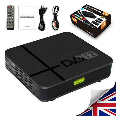 HD 1080P DVB-T2 Digital Receiver 3D Set Top TV Box USB Freeview Recorder HDMI
