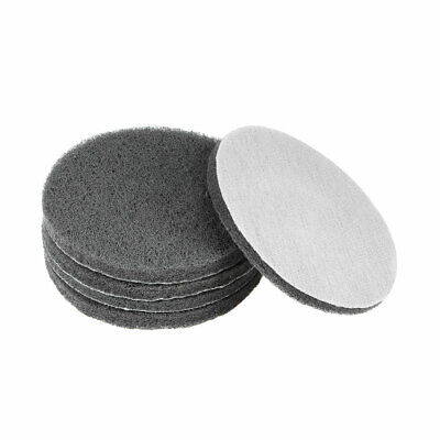 5Inch 1000 Grit Drill Power Brush Tile Scrubber Scouring Pads Cleaning Tool 5pcs