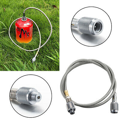 Propane Gas Hose Adapter Cylinder Flat Tank Pipe Outdoor Camping BBQ Grill