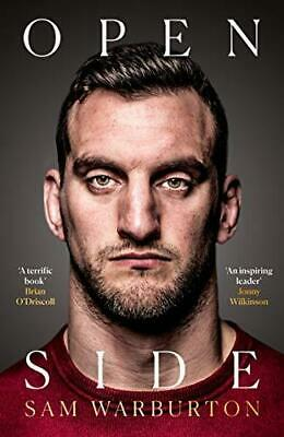 Open Side: The Official Autobiography by Sam Warburton New Hardcover Book