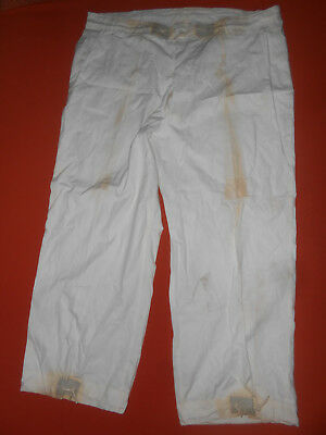 U.S.ARMY: :WWII 10TH MOUNTAIN TROUSERS,FIELD, OVER WHITE nice WW2....''LARGE''