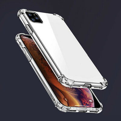 Case For iPhone 11/11 Pro/11Pro Max ShockProof Soft Phone Cover TPU Silicone QW