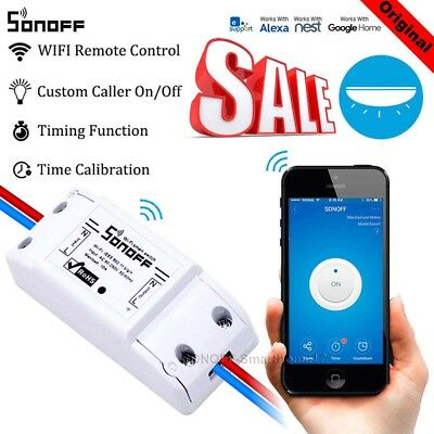 Sonoff Wireless ITEAD Smart Home WiFi Switch Remote Fr Apple Android APP Control
