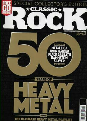 CLASSIC ROCK Mag-October 2019 *NEW Post included to UK/Europe/USA/Canada