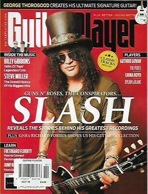 GUITAR PLAYER MAGAZINE-October 2019(NEW)*Post included to UK/Europe/USA/Canada