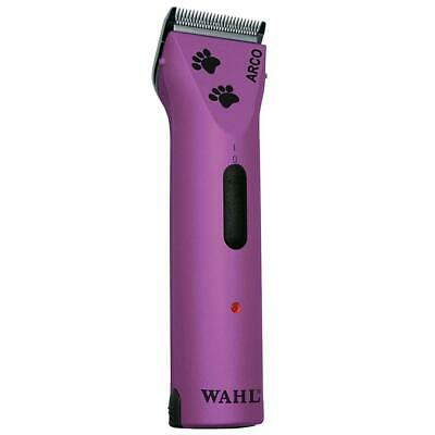 Wahl Professional Animal Arco Pet, Dog, Cat and Horse Cordless Clipper Purple