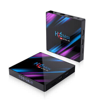 H96 Max Android 9.0 TV Box 16GB 32GB 64GB Quad Core 4K HD WiFi Media Player