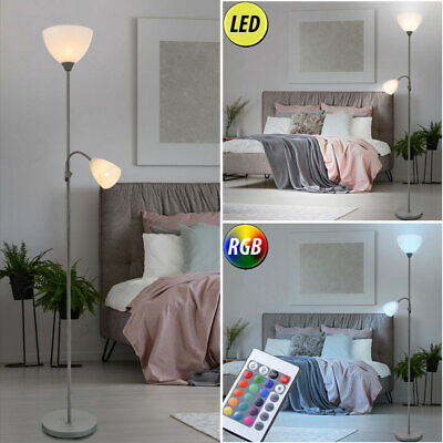 RGB LED Ceiling Floodlights Bedroom Remote Control Flexo Arm Stand Lamp Dimmable