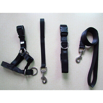 Dog Pet Head Collar Gentle Halter Leash Leader No Pull Straps for Training Dogs