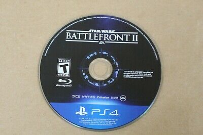 Star Wars Battlefront 2 II Sony PlayStation 4 PS4 Disc Only Pre-Owned