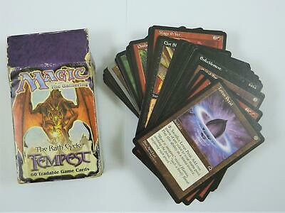 90 card Magic The Gathering deck in tempest box