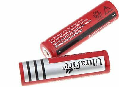 2pc Ultrafire BRC 3.7V 18650 Rechargeable Li-ion Button Top Cell Battery 4000mAh