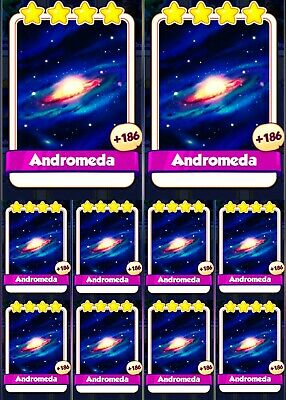 10X Andromeda :- Coin Master Cards  ( Fastest Delivery)