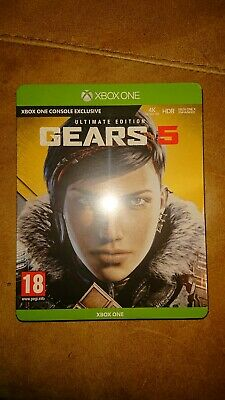 Metal Case Gears 5 Xbox One.