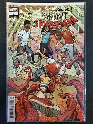 Absolute Carnage Symbiote Spider-Man #1 1:50 Variant Marvel VF/NM Comics Book
