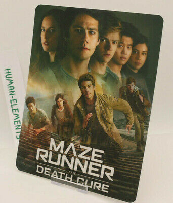 MAZE RUNNER Death Cure - 3D LENTICULAR Flip Magnet Cover TO FIT bluray steelbook